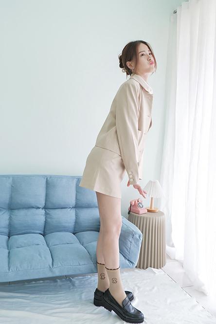Ruiyoo-Work-Yoo-Blazer-Khaki-Main-2