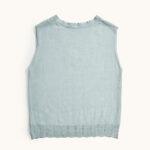 Work Yoo V Neck Knitted Vest